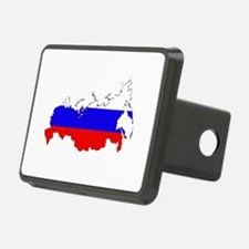 Russian Flag Map Hitch Cover