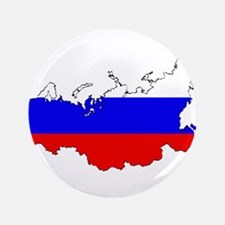 """Russian Flag Map 3.5"""" Button"""
