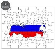 Russian Flag Map Puzzle