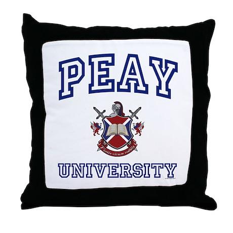 PEAY University Throw Pillow
