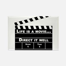 Cute Movies and television Rectangle Magnet