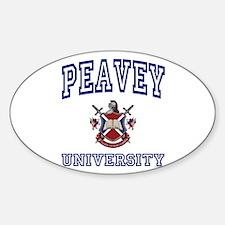 PEAVEY University Oval Decal