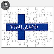 Finnish Flag Puzzle