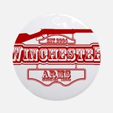 Shaun Of The Dead Winchester Arms Ornament (Round)