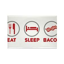 Eat Sleep Bacon Magnets