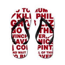 Shaun of the dead montage Flip Flops