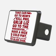 Shaun of the dead montage Hitch Cover