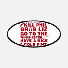 Shaun of the dead montage Patches