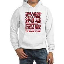 Shaun of the dead montage Jumper Hoody