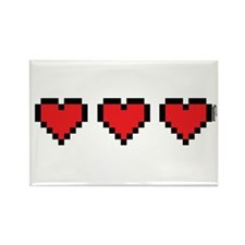 3 Hearts Magnets