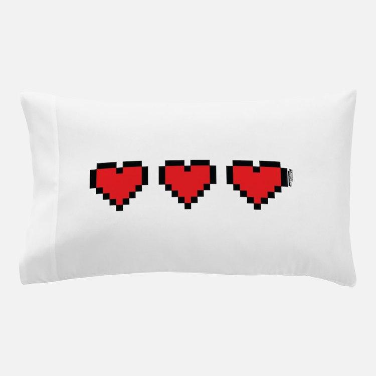 3 Hearts Pillow Case