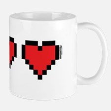 3 Hearts Mugs