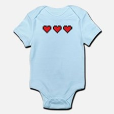 3 Hearts Body Suit