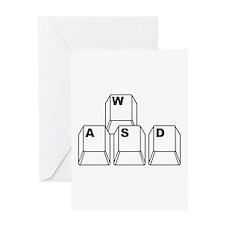 WASD Greeting Cards