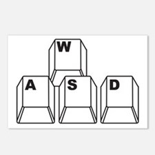 WASD Postcards (Package of 8)