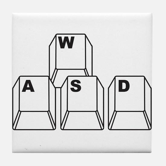 WASD Tile Coaster