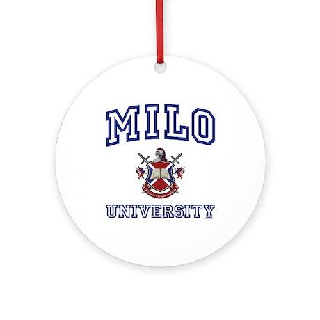 MILO University Ornament (Round)