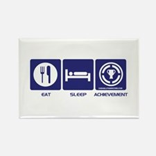 Eat Sleep Game Achievement Magnets