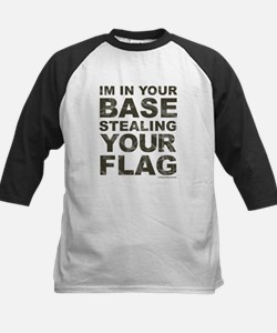 Im In Your Base Stealing Your Flag Baseball Jersey