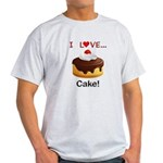 I Love Cake Light T-Shirt