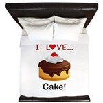 I Love Cake King Duvet