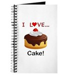 I Love Cake Journal