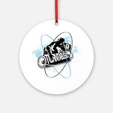 DJ Turntablism Ornament (Round)