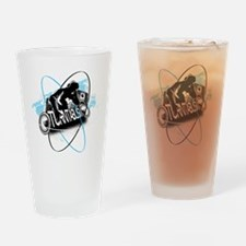 DJ Turntablism Drinking Glass