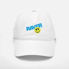 Raver Smiley Baseball Baseball Cap