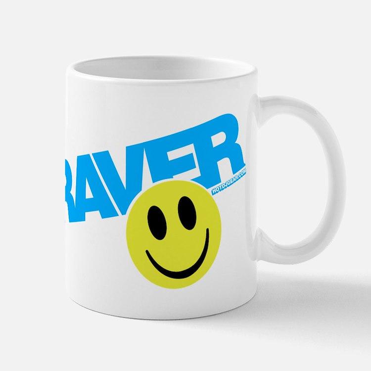 Raver Smiley Mugs