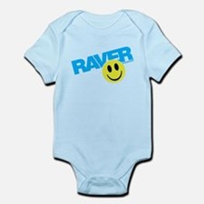 Raver Smiley Body Suit