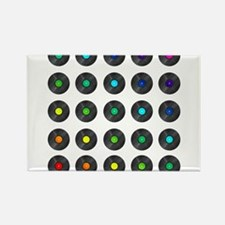 Vinyl Record Wall Art Magnets