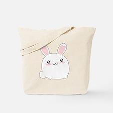 Fat Kawaii Bunny Tote Bag