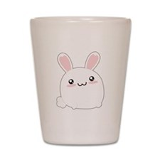 Fat Kawaii Bunny Shot Glass