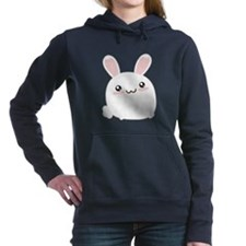 Fat Kawaii Bunny Women's Hooded Sweatshirt