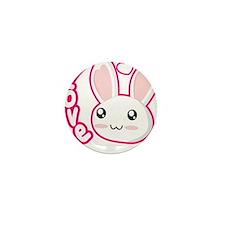 Love Rabbit Mini Button