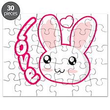 Love Rabbit Puzzle