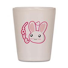Love Rabbit Shot Glass