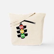 Ho Ho Ho Traffic Lights Tote Bag