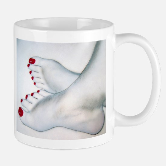 Bare Feet Drawing Mug