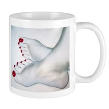 Bare Feet Drawing Mug