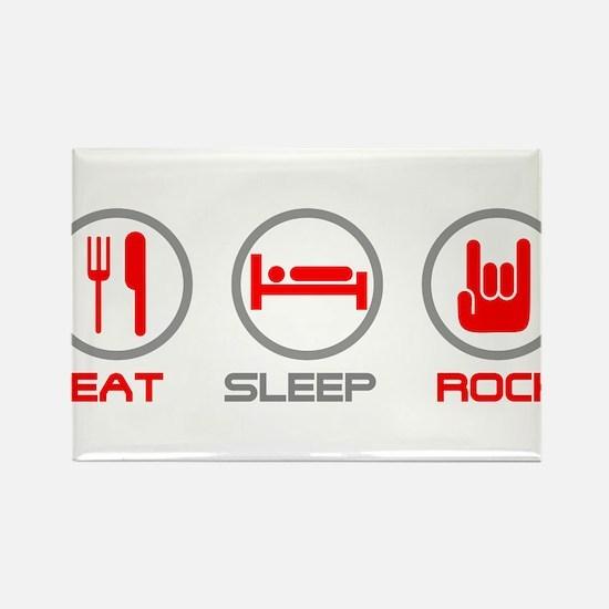 Eat Sleep Rock Magnets