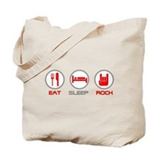 Eat Sleep Rock Tote Bag