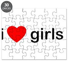 I Love Girls Puzzle