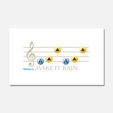 Make It Rain Car Magnet 20 x 12