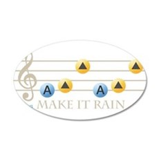 Make It Rain Wall Sticker