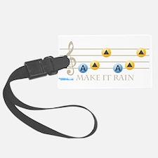 Make It Rain Luggage Tag
