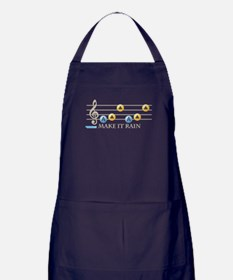 Make It Rain Apron (dark)