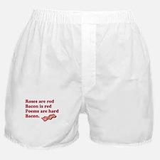 Bacon Poem Boxer Shorts