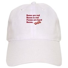 Bacon Poem Baseball Cap